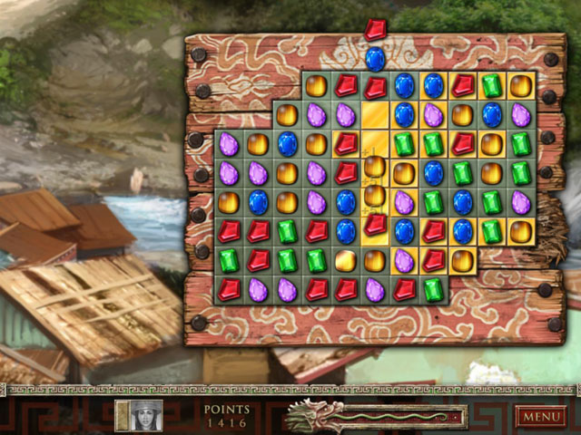 Jewel Quest: The Sapphire Dragon large screenshot