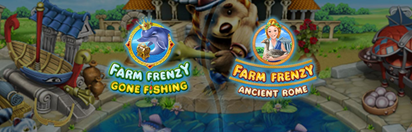 Farm Frenzy Bundle: Gone Fishing in Ancient Rome