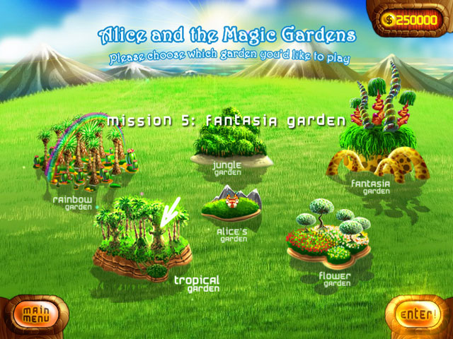 Alice and the Magic Gardens large screenshot