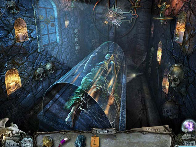 Gravely Silent: House of Deadlock large screenshot