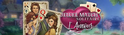 Jewel Match Solitaire L'Amour screenshot