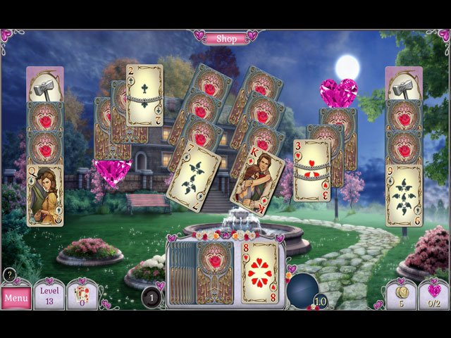 Jewel Match Solitaire L'Amour large screenshot