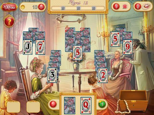 Marie Antoinette's Solitaire large screenshot