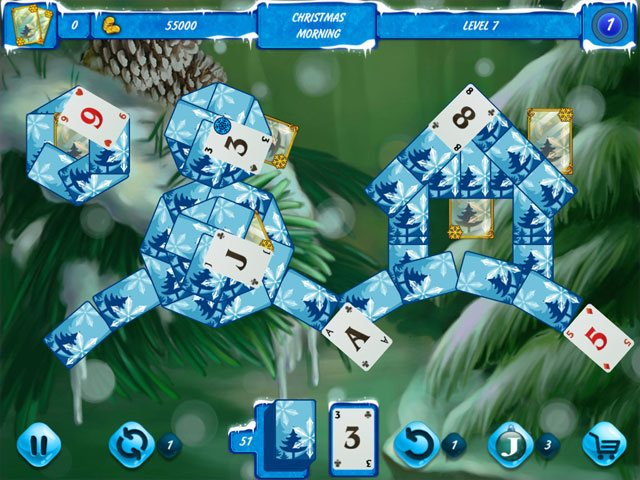 Solitaire Jack Frost Winter Adventures 2 large screenshot