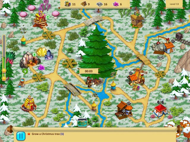 Gnomes Garden - Christmas Story large screenshot