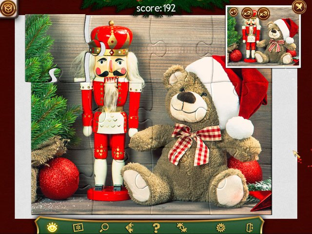Holiday Jigsaw Christmas 2 large screenshot