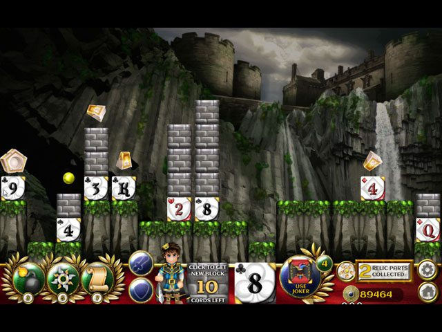 Solitaire Blocks: Royal Rescue large screenshot