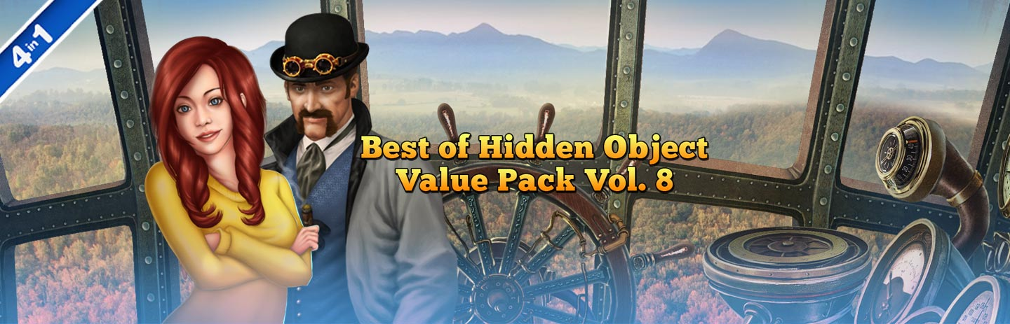Best of Hidden Object Value Pack Vol. 8