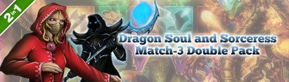 Dragon Soul and Sorceress Match-3 Double Pack screenshot