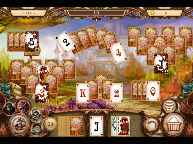 Snow White Solitaire - Charmed Kingdom large screenshot