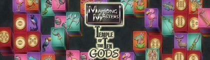 Mahjong Masters - Temple of the Ten Gods screenshot