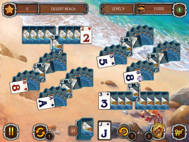 Solitaire Legend of the Pirates 2 large screenshot