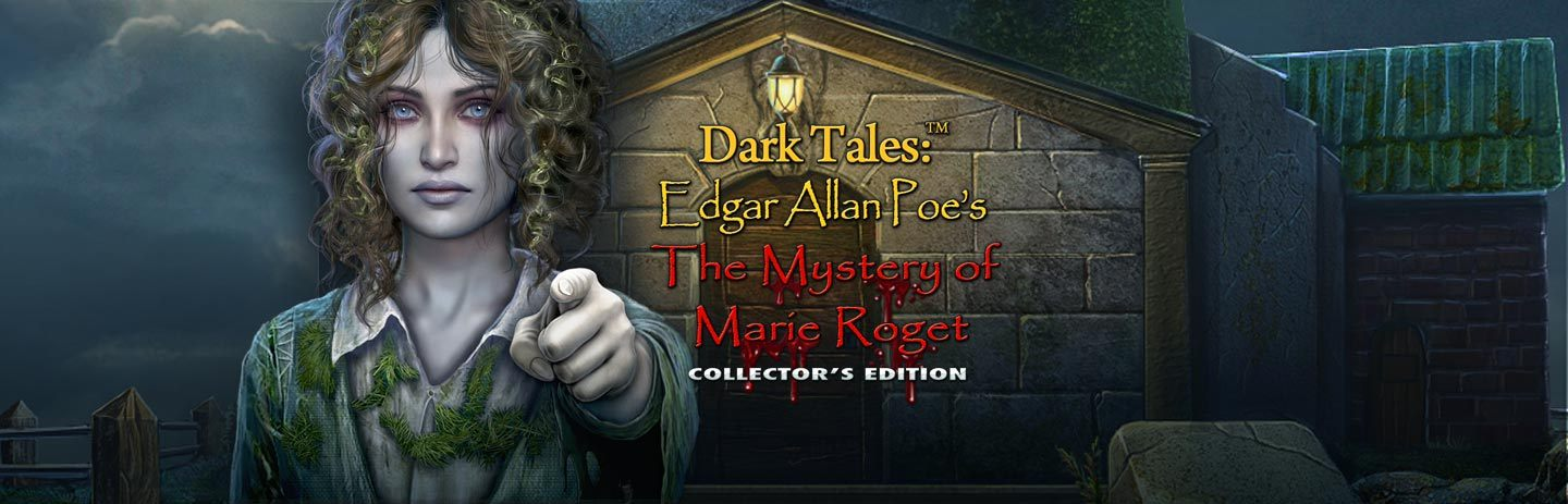 Dark Tales: Edgar Allan Poe's The Mystery of Marie Roget CE