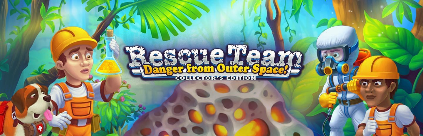 Rescue Team: Danger from Outer Space Collector's Edition
