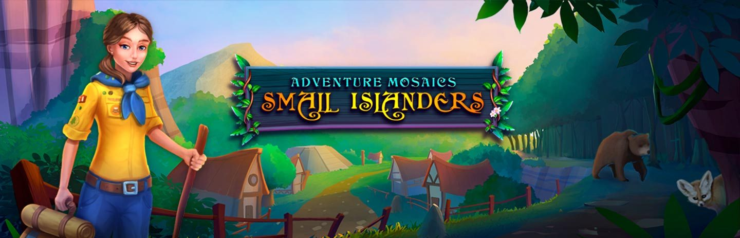 Adventure mosaics - Small Islanders